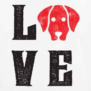 LOVE DOGS - Men's Breathable T-Shirt