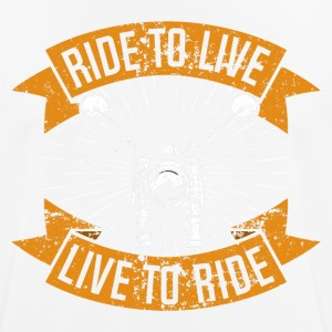 Live to Ride - T-shirt respirant Homme