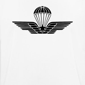 Italian Paratroops qualification badge subdued - Men's Breathable T-Shirt
