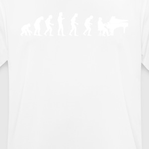 EVOLUTION PIANIST - Männer T-Shirt atmungsaktiv
