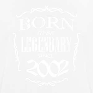 Born to be Legendary since 2002 - Men's Breathable T-Shirt