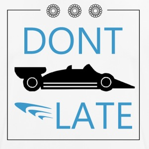 DONT LATE - Herre T-shirt svedtransporterende