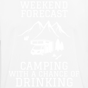 Camping Forecast - Men's Breathable T-Shirt