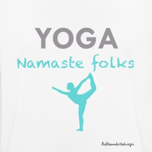 Namaste folks - Men's Breathable T-Shirt