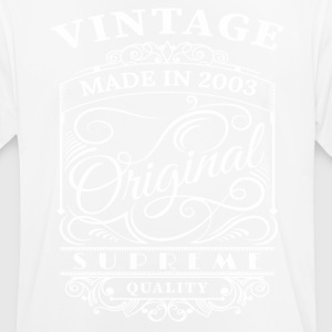 Vintage Made in 2003 Originalathers and your frien - T-shirt respirant Homme