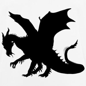 The black dragon - Men's Breathable T-Shirt