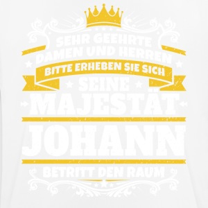 His Majesty Johann - Herre T-shirt svedtransporterende