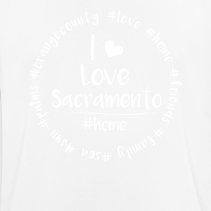 I love Sacramento - Orange County - Men's Breathable T-Shirt