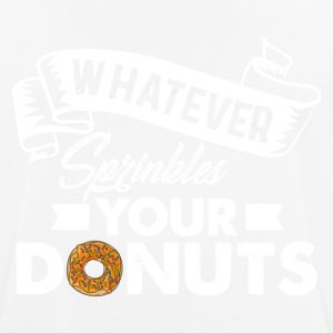 donuts - Men's Breathable T-Shirt