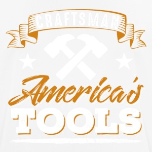 Craftsman America's Tools - mannen T-shirt ademend