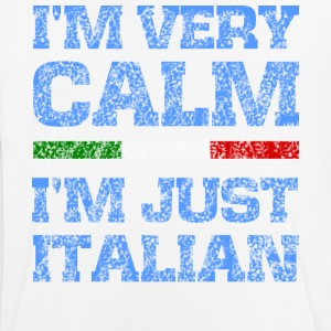 I'm very calm, I'm just Italian - Men's Breathable T-Shirt