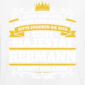 His Majesty Hermann - Herre T-shirt svedtransporterende