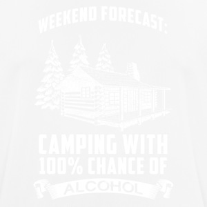 Weekend Camping - Men's Breathable T-Shirt