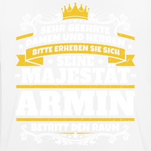His Majesty Armin - Herre T-shirt svedtransporterende
