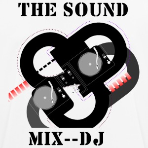 THE SOUND MIX - mannen T-shirt ademend