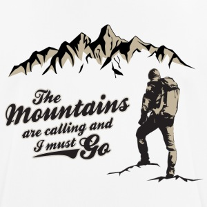 CLIMBING MAN - Men's Breathable T-Shirt