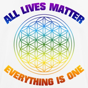 YOGA ALL LIVESMATTER EVERYTHING IS ONE SHIRT - Men's Breathable T-Shirt