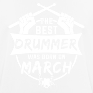 The best drummers were born in March - Men's Breathable T-Shirt