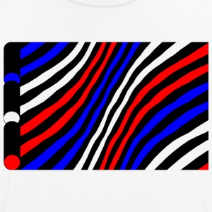 Geometry / colored / Strip - Men's Breathable T-Shirt