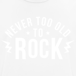 Never too old to rock - Men's Breathable T-Shirt