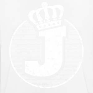 Stylish letter J with crown - Men's Breathable T-Shirt