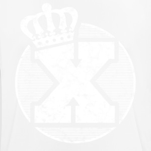 Stylish letter X with crown - Men's Breathable T-Shirt