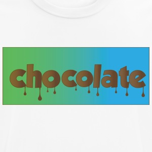 chocolate - Camiseta hombre transpirable
