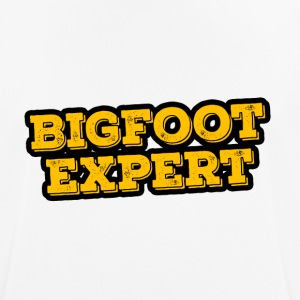 Bigfoot Expert - mannen T-shirt ademend