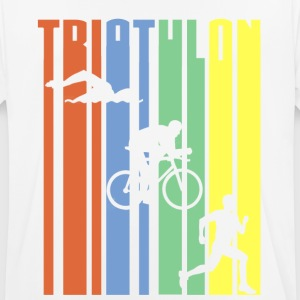 TRIATHLON - Stripes - Männer T-Shirt atmungsaktiv