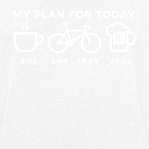MY PLAN FOR TODAY - Männer T-Shirt atmungsaktiv