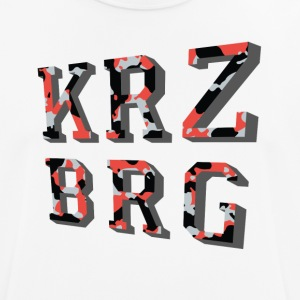 KRZBRG camouflage - Men's Breathable T-Shirt