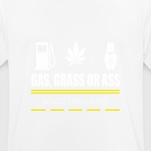 Gas, grass or ass - pickup - Men's Breathable T-Shirt