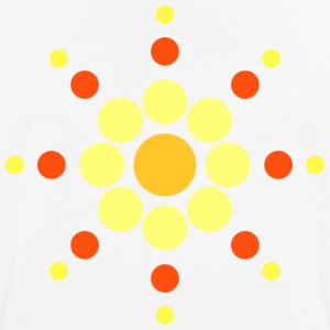 Sun circles 70s style - Men's Breathable T-Shirt