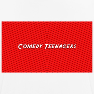 Red Comedy Teenagers T Shirt - Andningsaktiv T-shirt herr