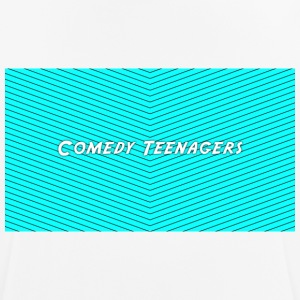 Light Blue Comedy Teenagers T Shirt - Andningsaktiv T-shirt herr