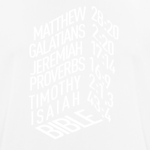 Bible verses - Men's Breathable T-Shirt