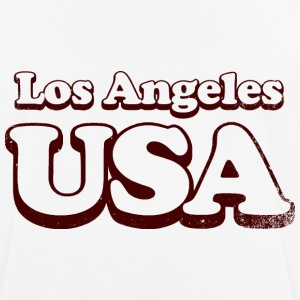 Los Angeles usa uni - Andningsaktiv T-shirt herr
