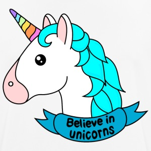 Believe in unicorns - Men's Breathable T-Shirt
