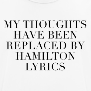 Hamilton The Musical Lyrics - Andningsaktiv T-shirt herr