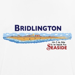 Bridlington Seaside - Pustende T-skjorte for menn
