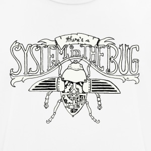 System in the Bug - Männer T-Shirt atmungsaktiv