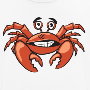 Crab Craps Funny shirt animal motif comic style - Men's Breathable T-Shirt