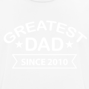 Greatest Dad Sinds 2010 - mannen T-shirt ademend