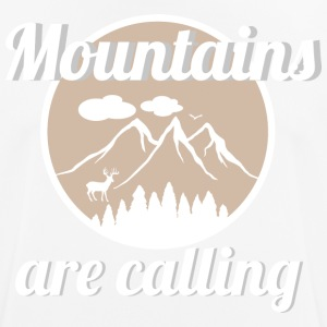 Mountains are calling - Männer T-Shirt atmungsaktiv