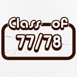 Class of 1977 1978 - Men's Breathable T-Shirt