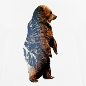 bear - Men's Breathable T-Shirt