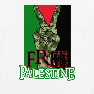 Free Palestine - Peace - Save Gaza T-Shirt - Men's Breathable T-Shirt
