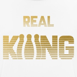 Real King - Bowling - Men's Breathable T-Shirt