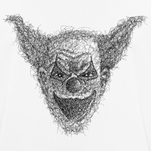 clown Scribble - Andningsaktiv T-shirt herr