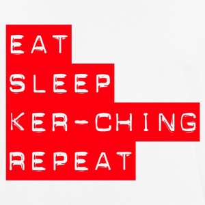 Spis Sleep Kerching Repeat - Herre T-shirt svedtransporterende